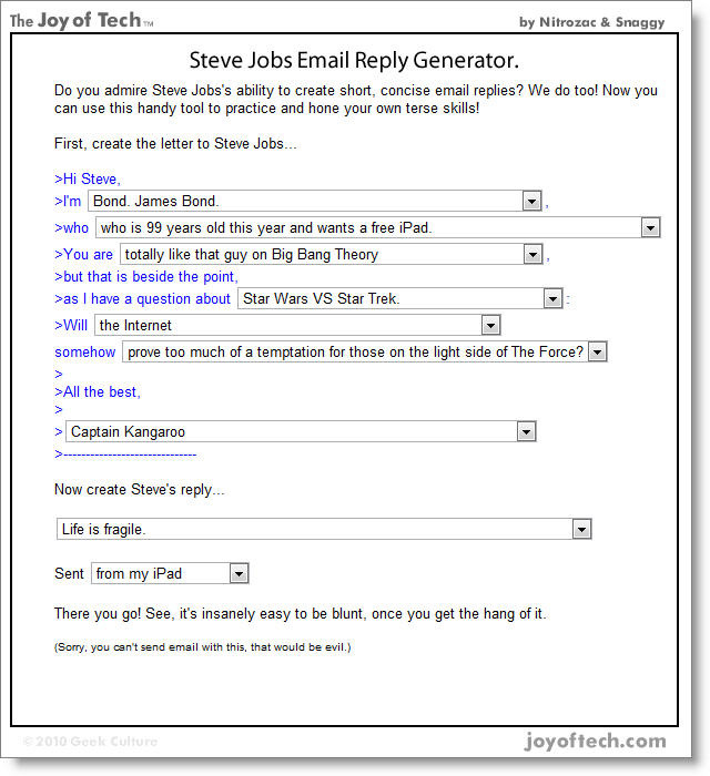 Steve-jobs-email-reply-generator